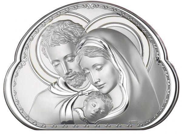icoana argint 16 2x19 5cm sfanta familie copie 313 1525 1