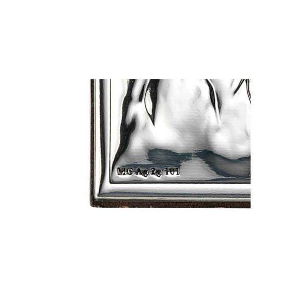 icoana argint arhanghelul mihail auriu 12x20 cm copie 146 1027 1