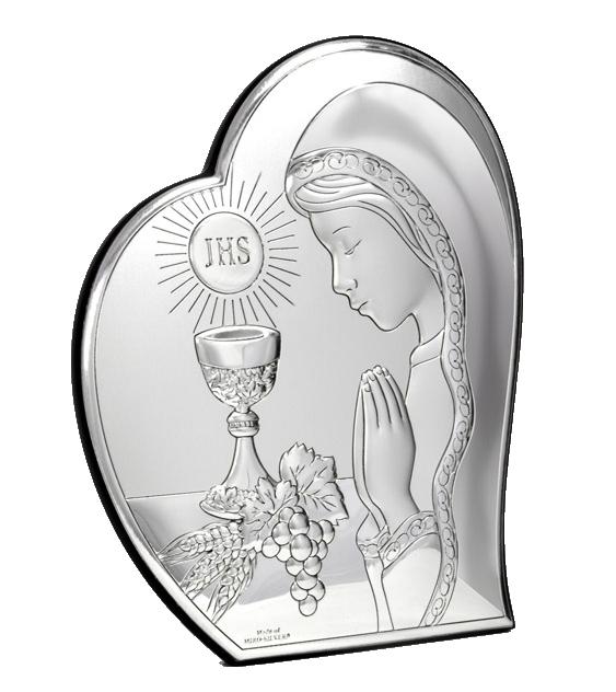 icoana argint comuniune baiat 12x14 5cm copie 320 7562 1