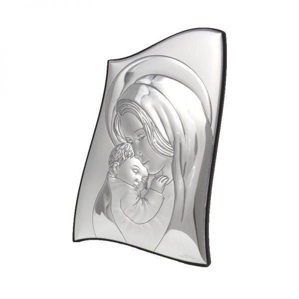 icoana argint maica domnului cu pruncul 8 5x13 cm 440 798469 1