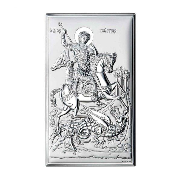 icoana argint sfantul gheorghe 12x20cm 150 497409 1
