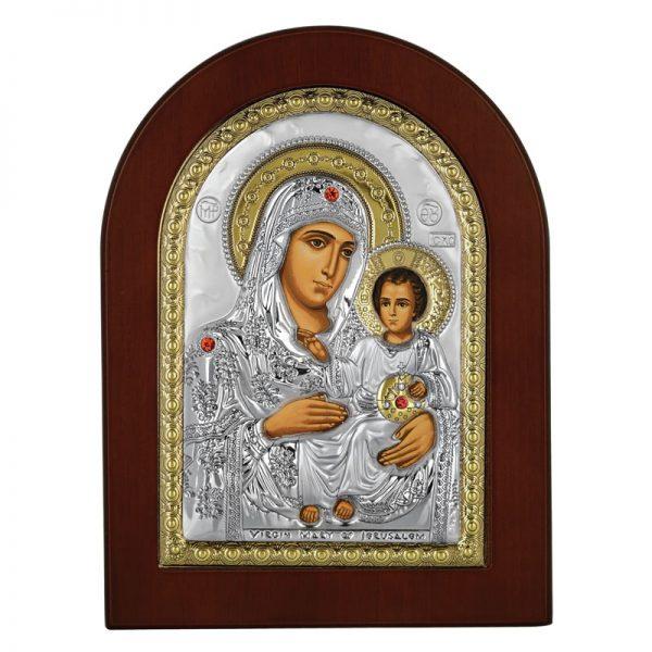 icoana maica domnului de la ierusalim 7 5x9 5cm auriu 559 103629 1