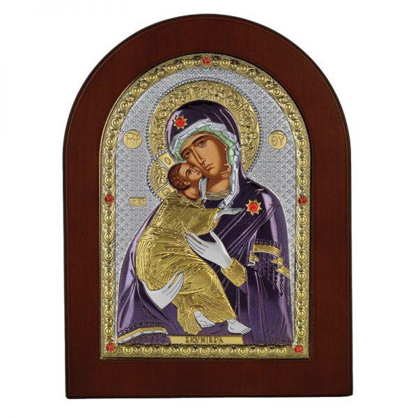 icoana maica domnului vladimir 15x21cm auriu color 581 162012 1