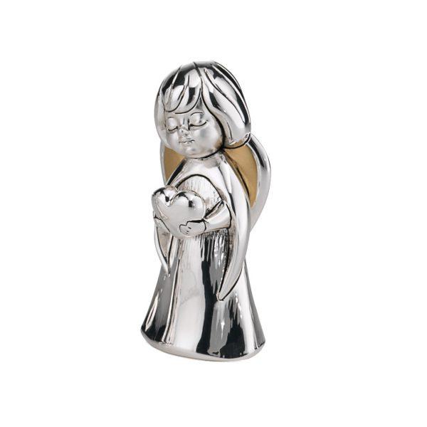 statueta inger pazitor 7cm argintiu 606 656446 1