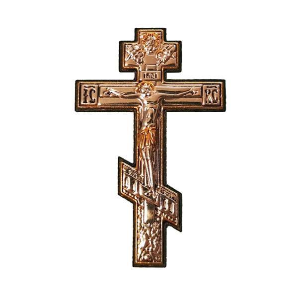 3322 icoana argint crucifix 2x8cm argintiu