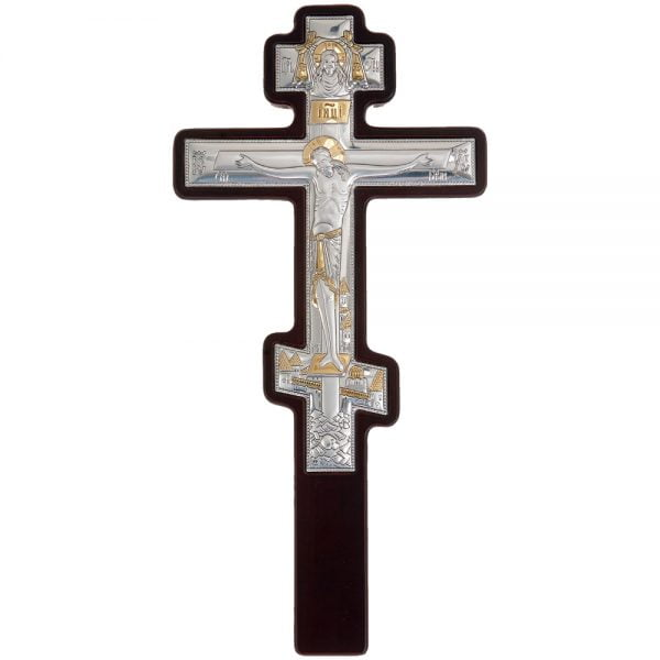 3276 cruce argint 15x31cm argintiu1